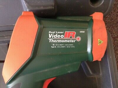 Extech Dual Laser Video IR Video Thermometer Model VIR50