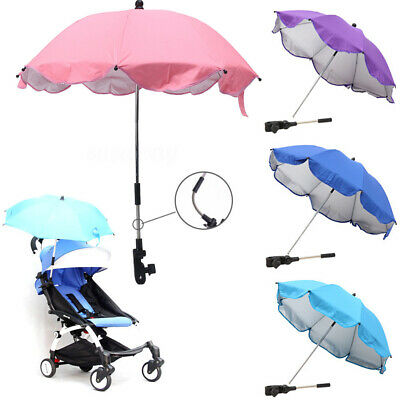 Sun Umbrella Parasol Kids Baby Buggy Pushchair Pram Stroller Shade Canopy Cover
