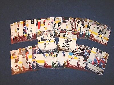 2005-06 Upper Deck Ud Rookie Class Hockey Set 1-50 Crosby Ovechkin More (18-20)