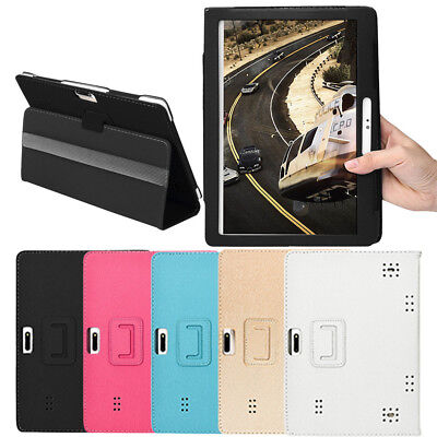 Universal Folio Leather Stand Cover Case For 10 10.1 Inch Android Tablet PC MI
