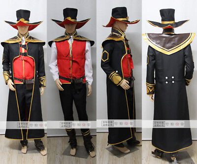 Hot PRECO Cosplay League of Legende Twisted Fate Costumes Any Size