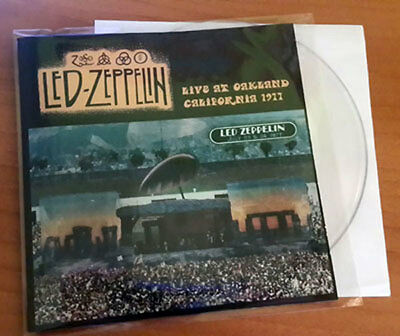 """LED ZEPPELIN - Live at Oakland - California 1977, CLEAR 7"""" EP, LIMIT TO 30"""