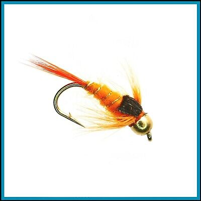 10 50 or 100 x Mixed Glow In The Dark Buzzers Lummies Trout Flies for Fly Fishing 25