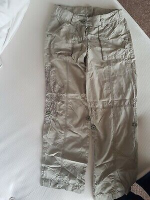 LOOK! marks And Spencer Girls Cargos  trousers Age 10 Years