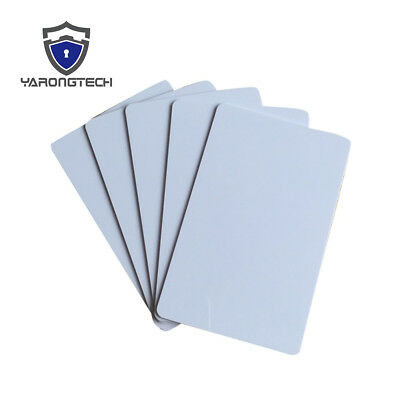 NFC Card NTAG213 NTAG216 PVC White Card Work with All NFC Functional Phone - 10