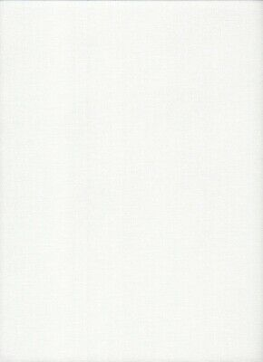 "32 count Zweigart Murano Lugana Evenweave Fabric size 49 x 69cms ""Antique White"""