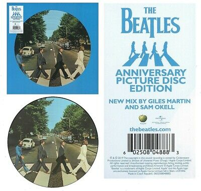 The Beatles – Abbey Road LIMITED Edition Picture Disc 50th Anniversary SEALED!