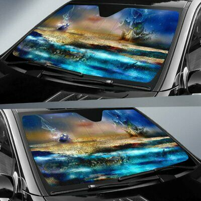 Under The Sea Aquatic Car Sunshade