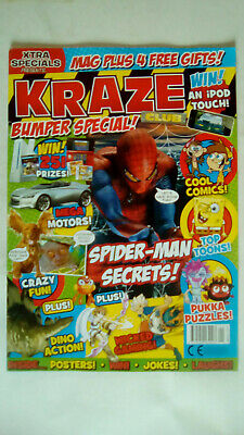 Kraze Magazine Issue Number 1 Mag Only No Free Gifts