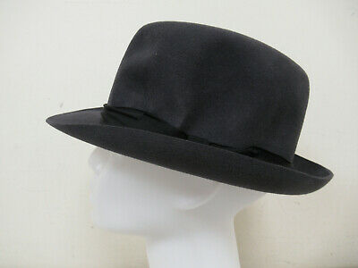 Dunn & Co Men's Vintage Grey Fedora Hat Size 7 / 57