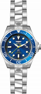 Invicta Men's Pro Diver Automatic 300m Blue Dial Stainless Steel Watch 27611