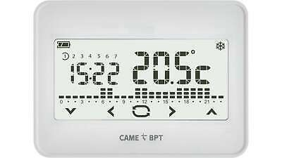 BPT Cronotermostato touch screen radio TH/550WH WL TH/550WH WL