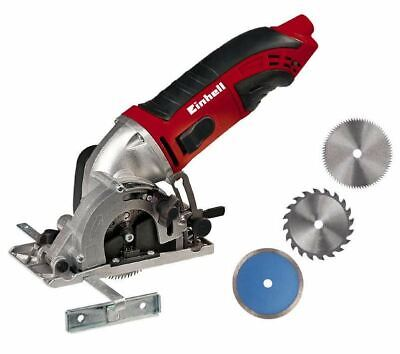 Einhell Mini Circular Saw by hand Tcs-Cs 860 Kit 450W Cut Adjustable with 3 Of