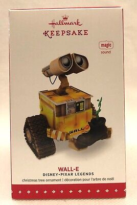 Hallmark Disney Pixar Wall-E Magic Sound Keepsake Ornament 2015 -NEW