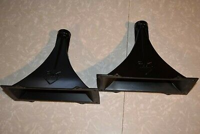 Heavy Version Klipsch K 700 Midrange Horn Pair Heresy Rare 8 Screw Version Metal