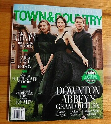 BN TOWN & COUNTRY Magazine October 2019 Downton Abbey NEWSSTAND ISSUE