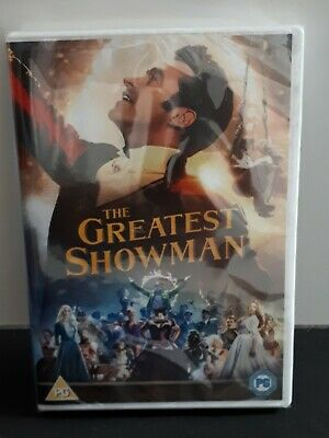 The Greatest Showman (DVD, 2018) Brand New Sealed
