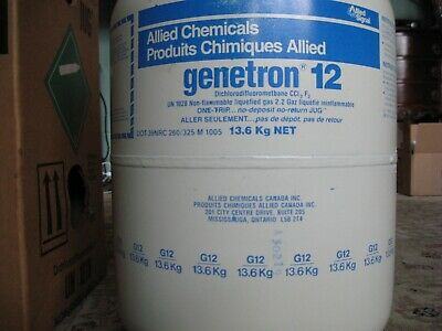 11 lbs of A/C refrigerant R-12 for older cars prior to 1994 - Freon for old car
