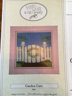 Acorn Quilt & Gift Co. #301 Garden Gate Punch Needle Pattern