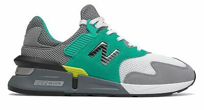 New Balance Men's 997 Sport Shoes Grey with Green