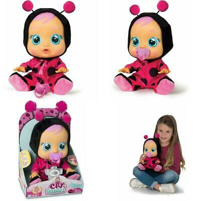 Cry Babies Lady The Ladybug Doll Cry Real Tears And Makes Realistic Baby Sound