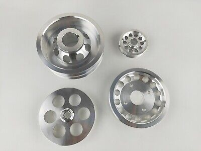 BBK 1620 Underdrive Pulley Kit For Camaro Firebird GM 305//350-3 Piece CNC Machined Lightweight Aluminum