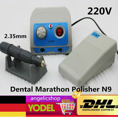 Dental Marathon Micro Motor Polishing Polisher N9+35K RPM Handpiece Lab 2.35mm