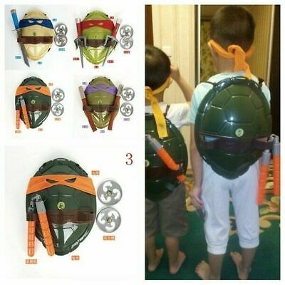 Teenage Kids Mutant Ninja Turtle Weapons Toy TMNT Turtle Armor Shell Movie Toys