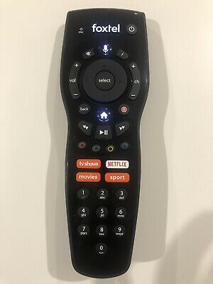 Foxtel voice remote control with Netflix button for IQ4 Brand New Sealed