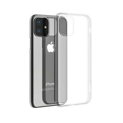 Cover Transparente Suave de TPU Delgado Funda de Silicona para Apple IPHONE 11