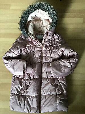 Nutmeg - Girl's Dusky Pink - Hooded Jacket - Fleece Lined - Age 10/11 - Unused.
