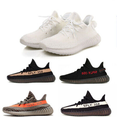Men Women Yeezy-Boost 350 V2 TRAINERS FITNESS GYM SPORTS RUNNING SHOCK SIZE wlc