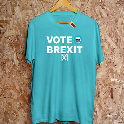 The Brexit Party T Shirt EU Elections Leave Means Leave Farage Gift Women Top