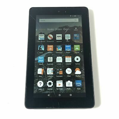Amazon Kindle Fire 5th Generation 16 GB Wi-Fi 7in Black eReader Tablet Read