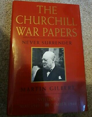 Winston Churchill War Papers Never Surrender Hb Book vol 2 WW2 Martin Gilbert
