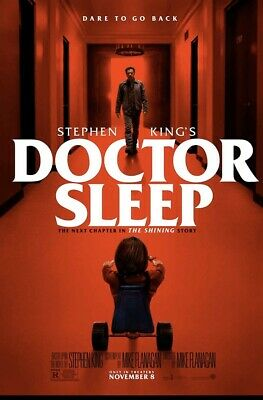 DOCTOR SLEEP (2019) MOVIE POSTER 27X40-Ewan McGregor, Rebecca Ferguson