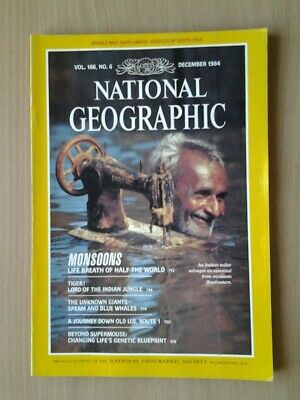 National Geographic Magazine December 1984
