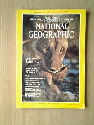 National Geographic Magazine  December 1982