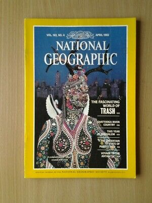 National Geographic Magazine  April 1983
