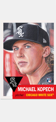 Topps Baseball Living Set Rookie Card Chicago White Sox Michael Kopech #258