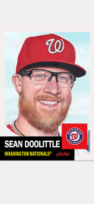 Topps Baseball Living Set Card Washington Nationals Sean Doolittle #257