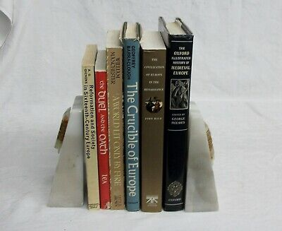 Medieval Europe Renaissance History Crucible Sixteenth Century Art 6 Book Lot