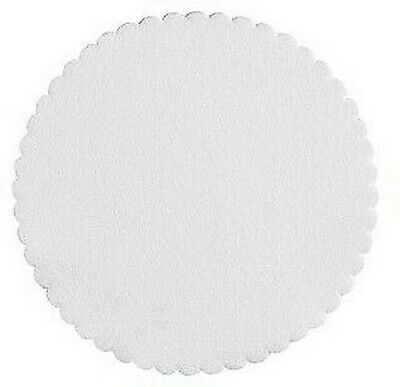 250 Doilies Coasters round White 11,5 cm Airlaid for Hotel