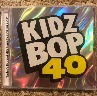 KIDZ BOP 40 Kidz Bop Kids CD- NEW