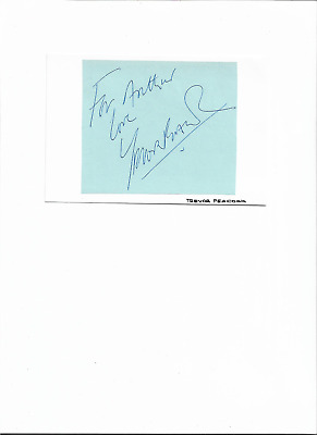 signed by british stage/tv actor trevor peacock.