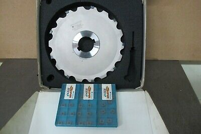 """Ingersoll 10"""" Indexable Slot Milling Cutter 2"""" Arbor"""