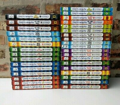Build a Book Lot: Diary of a Wimpy Kid Jeff Kinney: CHOOSE TITLES FREE SHIP