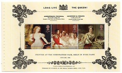 "Prestige Booklet Pane From ""Queen Victoria Bicentenary"" Commemoratives Mnh #2"