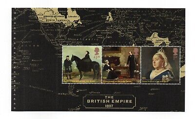 "Prestige Booklet Pane From ""Queen Victoria Bicentenary"" Commemoratives Mnh #3"