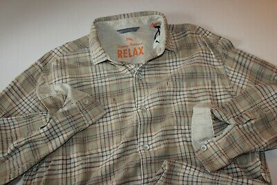 TOMMY BAHAMA Men/'s Authentic Big /& Tall  NEW SEASIDE Long Sleeve Flannel Shirt